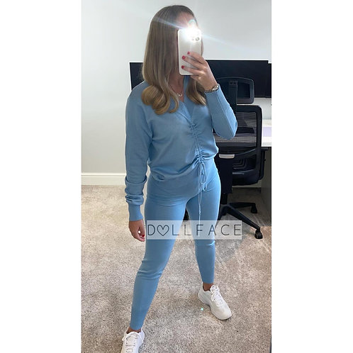 KELLY Ruched Loungewear - 2 Colours