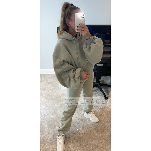 CLARA Ruched Tracksuit Set - 4 Colours