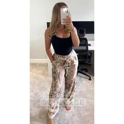 MARGOT Paisley Trousers