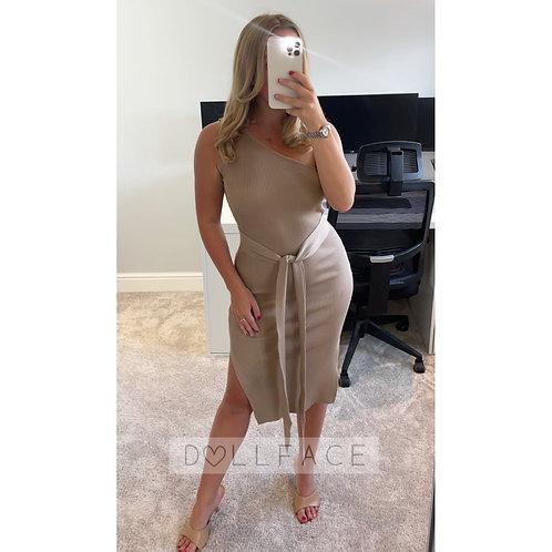 ALICE One Shoulder Wrap Dress - 3 Colours