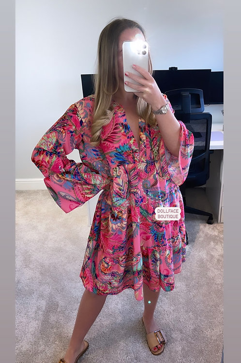 NAOMI Bright Floral Dress