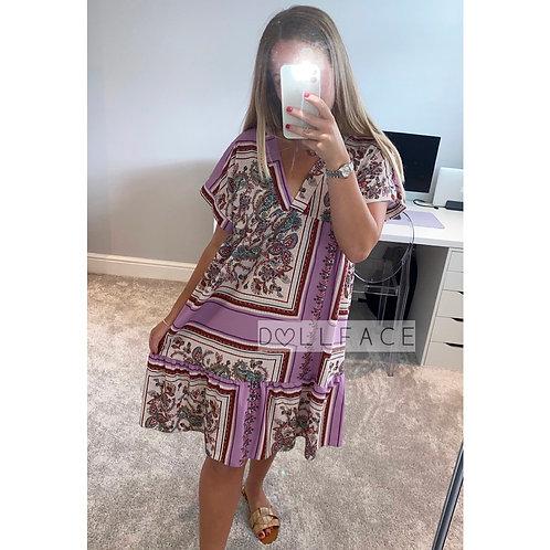Paisley Smock Dress - 2 Colours
