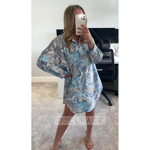 MATILDA Paisley Shirt Dress - 3 Colours