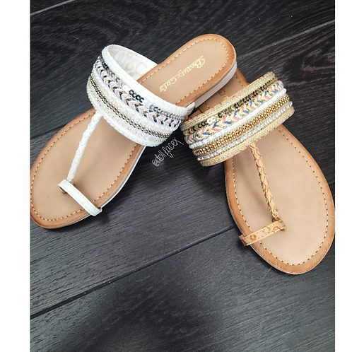 Zara Sparkle Sandals - 2 Colours