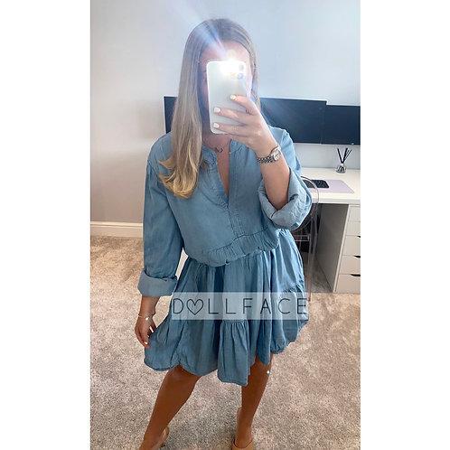 Jade Denim Dress