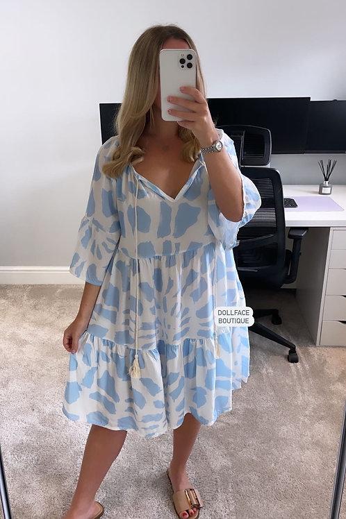 JOSIE Giraffe Print Summer Dress - 2 Colours