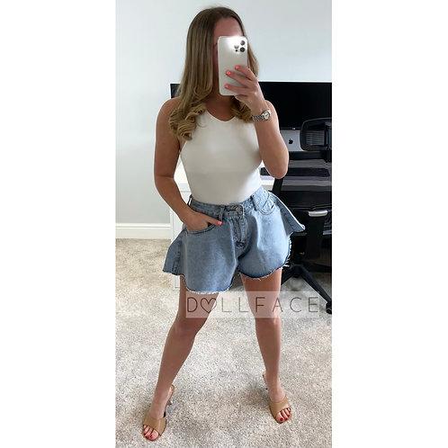 MAE Denim Shorts - 3 Colours