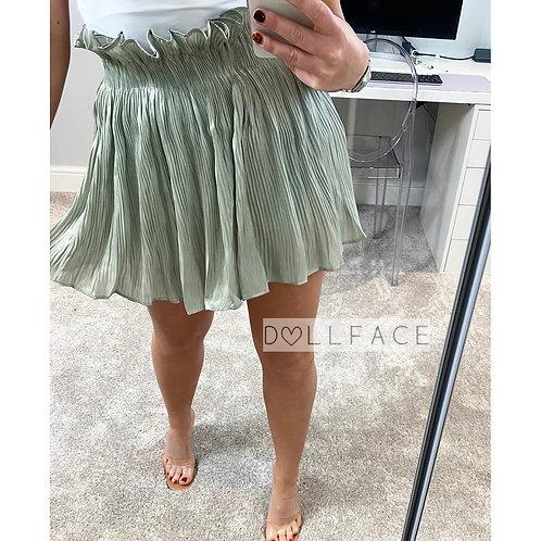 Chloe Mint Skirt