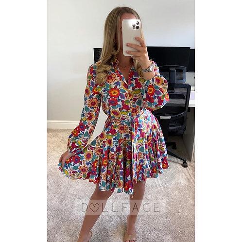 MILLIE Floral Swing Dress - 2 Colours