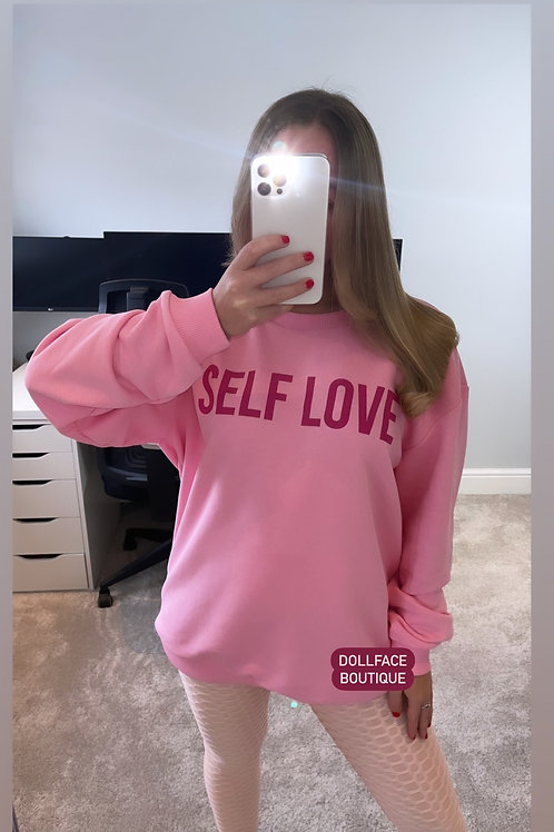 SELF LOVE Jumper