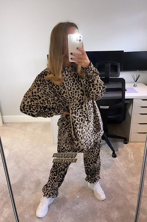 CALLIE Leopard Loungewear