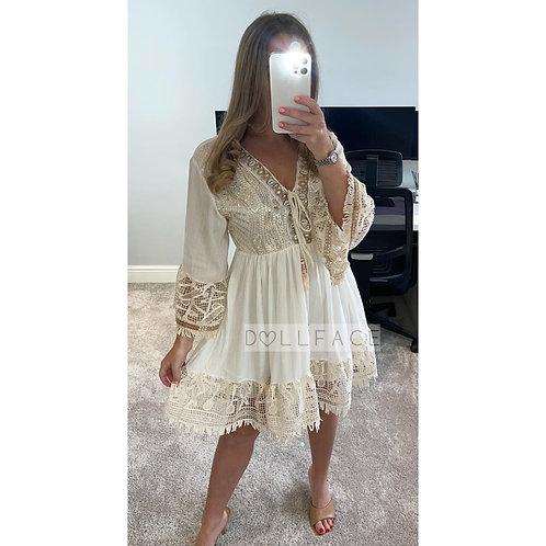 CHELLE Detailed Dress