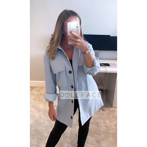 Luna Baby Blue Fleece Jacket