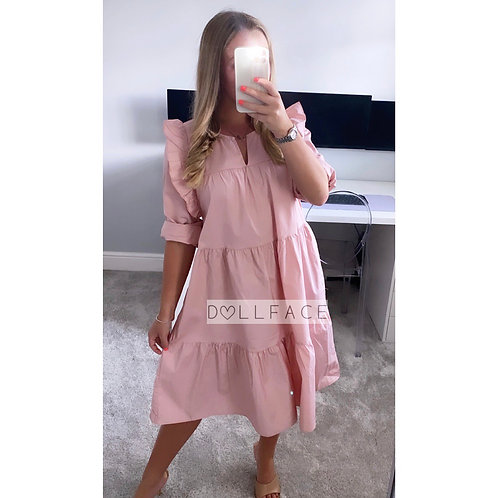 Thea Baby Pink Dress