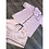 Thumbnail: Pink & Black Personalised Short Set Pyjamas