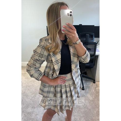 ATHENA Blazer Skirt Set