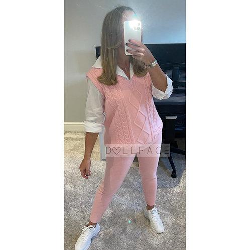 MAYA Cable Knit Loungewear - 2 Colours