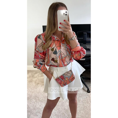 KYLIE Printed Blouse  - 4 Colours