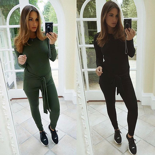 Lulu Tie Long Sleeved Tracksuit - 2 Colours