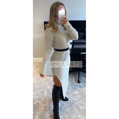 Daniela Chunky Knit Dress - 3 Colours