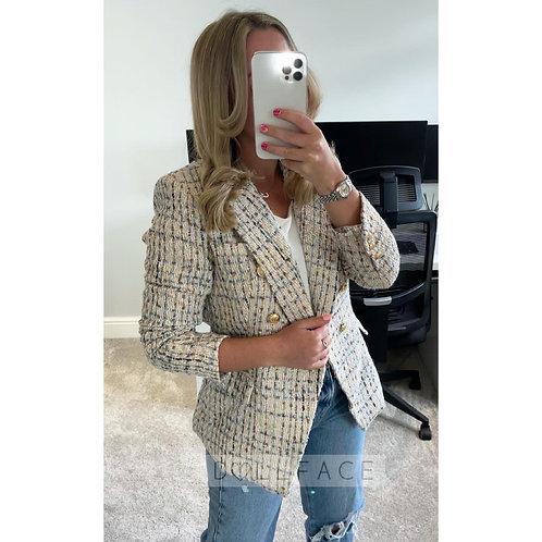EVIE Tweed Blazer - 2 Colours