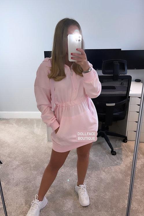 MEGAN Hooded Dress - 2 Colours