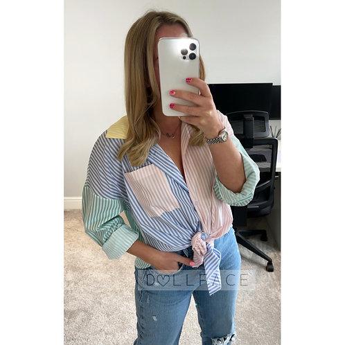 AVA Stripe Shirt