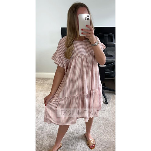 MOLLY Gingham Swing Dress - 3 Colours