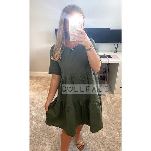 Annie Khaki Dress