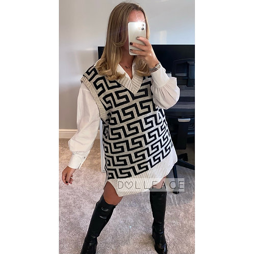 Lara Knitted Vest - 2 Colours