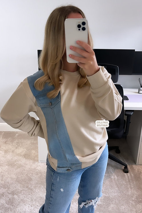 ELLA Denim Sweater