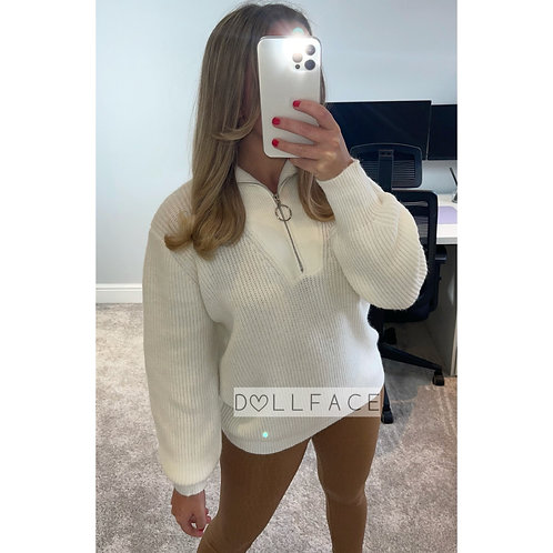 ELIZA Soft Zip Jumper