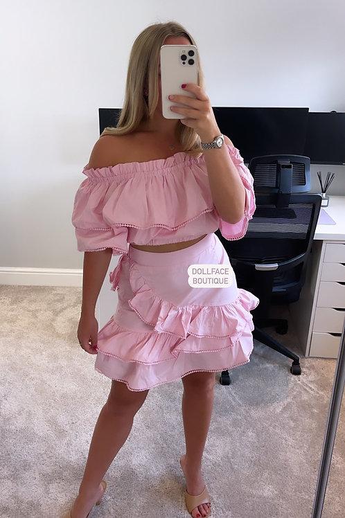 RUBY Bardot Skirt Set - 2 Colours