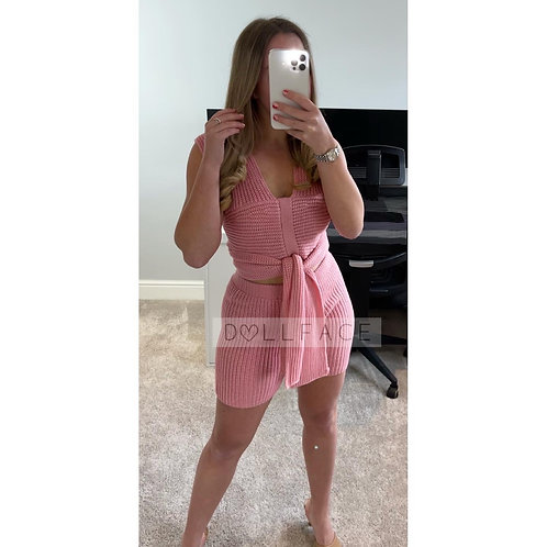 NELLY Knitted Short Set - 2 Colours