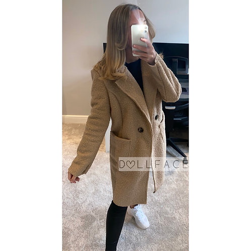 Penny Double Breasted Coat - 2 Colours