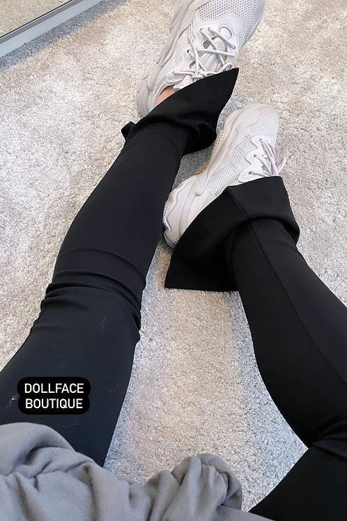 KARA Black Split Legging