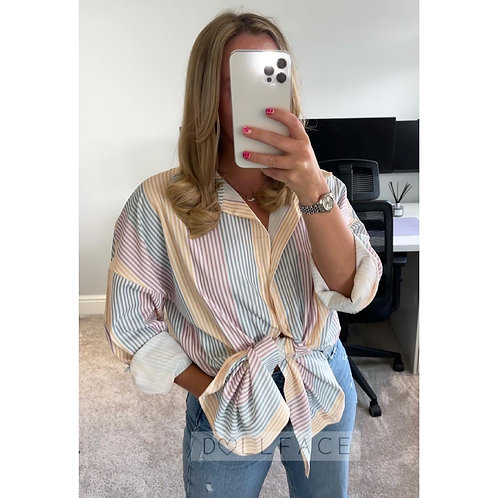 OLIVIA Striped Shirt - 2 Colours