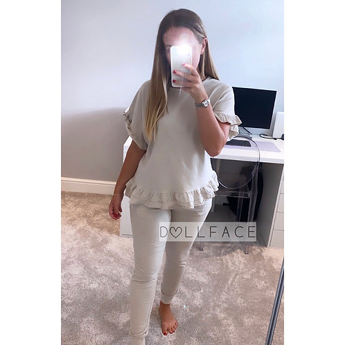 Lola Ruffle Loungewear - 4 Colours