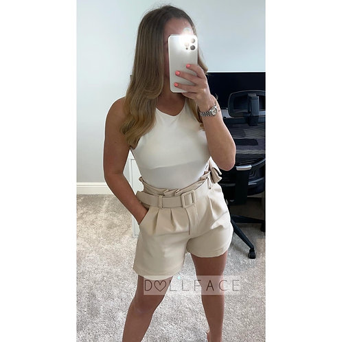 FLO Belted Shorts - 3 Colours