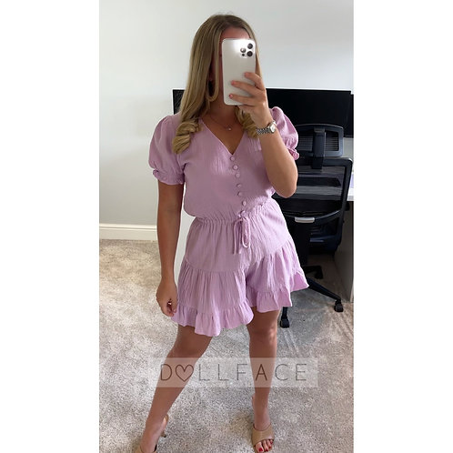 REESE Lilac Playsuit