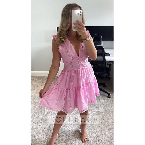 ALANI Pink Dress