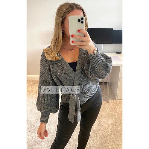 Georgia Chunky Knit Cardigan - 2 Colours