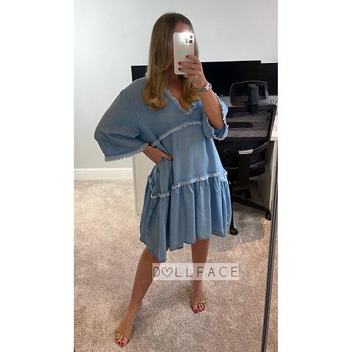 SOPHIA Denim Dress