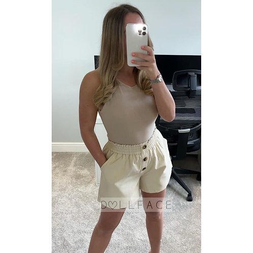 HOPE Button Shorts - 2 Colours