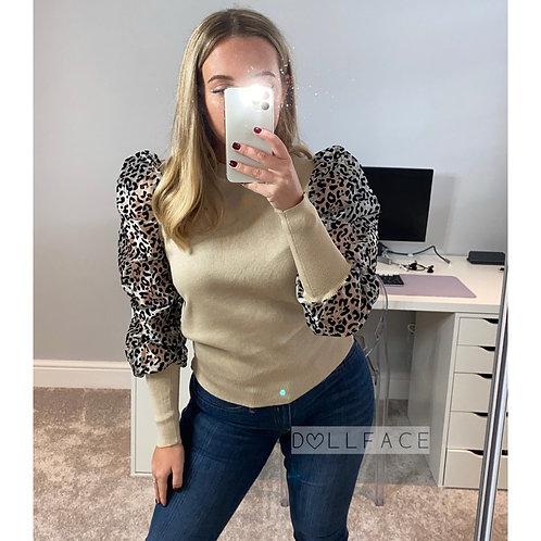 Lizzie Leopard Top
