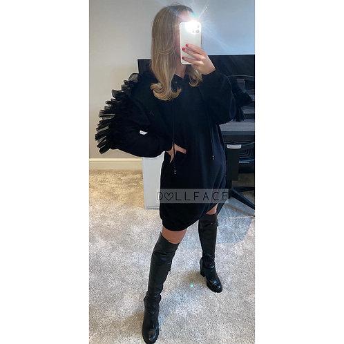 Sophia Ruffle Hooded Dress - 4 Colours