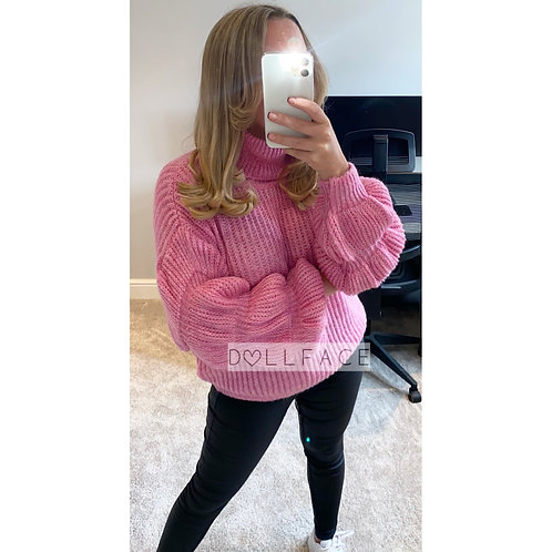 Isabelle Bubble Knitted Jumper