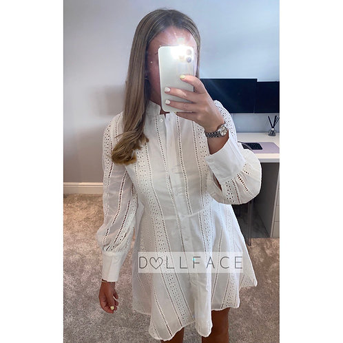 Darcy White Dress