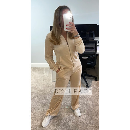 TILLIE Velour Loungewear - 2 Colours