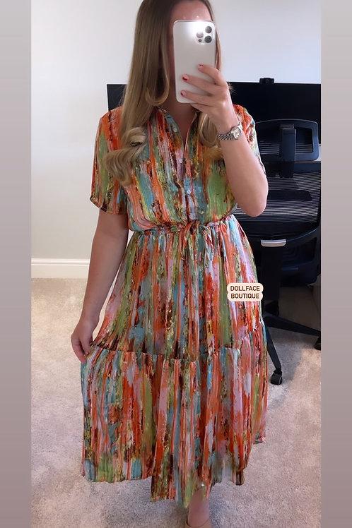 HALLIE Chiffon Dress